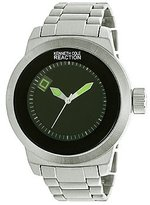 Kenneth Cole Reaction Unisex RK3248 Street Fashion Analog Display Japanese Quartz Silver Watch
