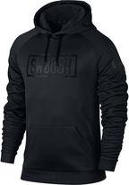 Nike Long-Sleeve Therma Swoosh Bar Fleece