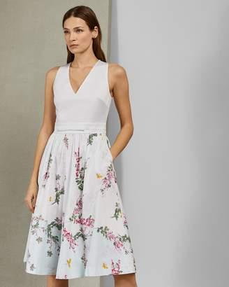 Ted Baker REYYNE Full skirted cotton dress