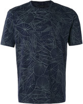 Z Zegna leaf print T-shirt - men - Cotton - S
