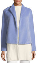 Escada Alpaca-Wool Open-Front Jacket