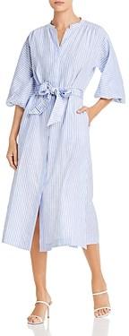 Tory Burch Striped Shirt Dress