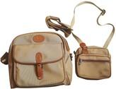 Lancel Camel Cloth Travel bags