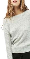 Topshop Women's Drop Shoulder Sweater