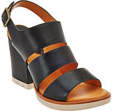 Kork-Ease Open Toe Three-Strap Sandals - Lenny