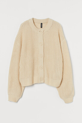 H&M Double-knit cardigan