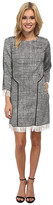 Sam Edelman 3/4 Sleeve Shift Dress