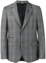 Stella McCartney check tailored jacket - men - Viscose/Wool - 46