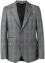 Stella McCartney check tailored jacket - men - Viscose/Wool - 48