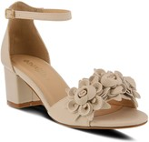 Spring Step Patrizia by Floral Block-Heel Sandals - Tomika