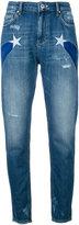 Zoe Karssen star detail jeans - women - Cotton - 24