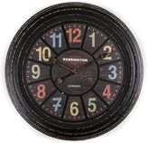 Casa Uno Station Kensington Multicolour Wall Clock, 68cm