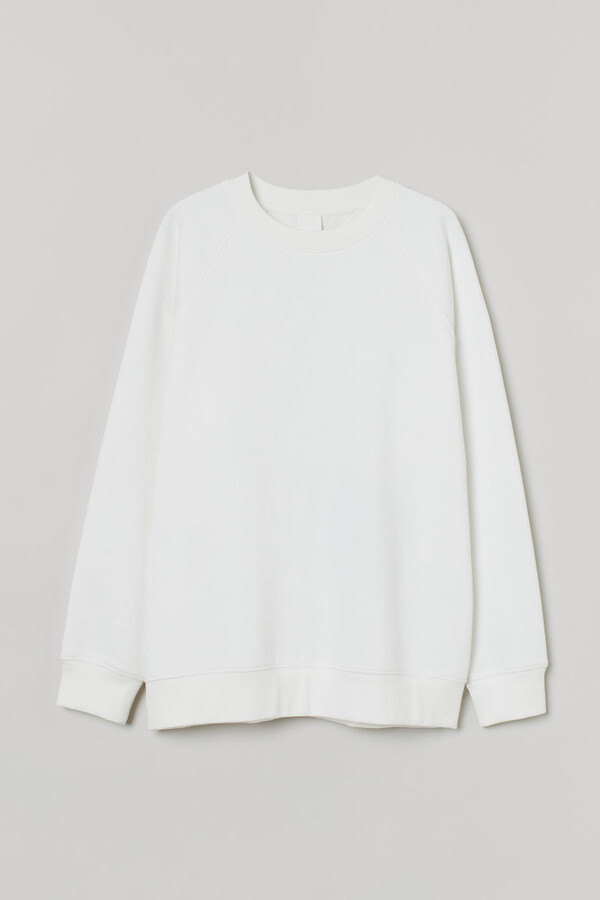 H&M - Sweatshirt - White