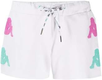 Kappa logo print shorts