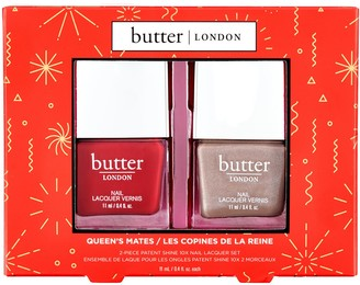 Butter London Cheeky Cremes Patent Shine 10X Nail Lacquer Duo