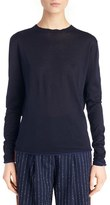 Acne Studios Women's 'Caci' Crewneck Cotton Sweater
