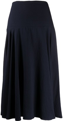 Kenzo High Waist Midi Skirt