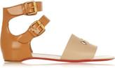 Christian Louboutin + Jonathan Saunders embellished leather sandals