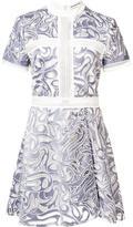 Self-Portrait 'Eliza' mini dress - women - polyester - 10