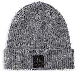 Moose Knuckles Men's Merino Wool Beanie