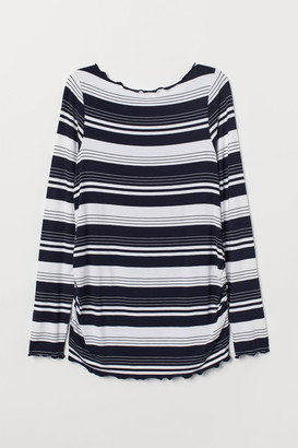 H&M MAMA Long-sleeved jersey top