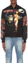 Givenchy Printed Cotton Bomber Jacket