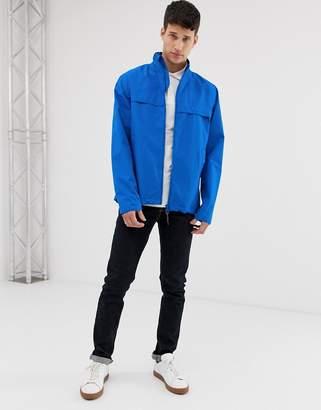 Barbour Skerries waterproof lightweight jacket in blue