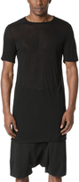 Rick Owens Short Sleeve Level Tee
