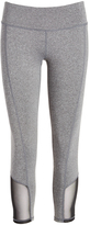 Head Charcoal Heather Olympic Crop Pants