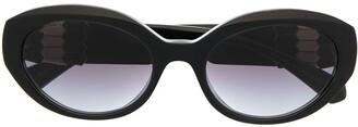 Bvlgari Round-Frame Sunglasses
