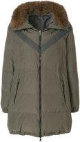 Brunello Cucinelli fox fur trim hooded jacket