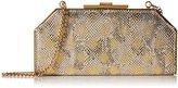 Halston Geo Frame Clutch Evening Bag