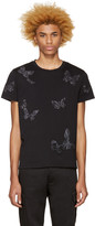 Valentino Black Butterflies T-shirt