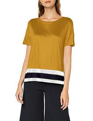 Scotch & Soda Maison Women's Cropped Short Sleeve Tee with Rib Bottom Hem T-Shirt, (
