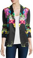 Berek Flower Pop Two-Button Jacket