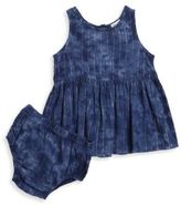 Splendid Baby Girls Denim Dress and Bloomers Set