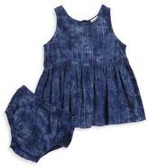 Splendid Baby Girls Denim Dress and Bloomers Set