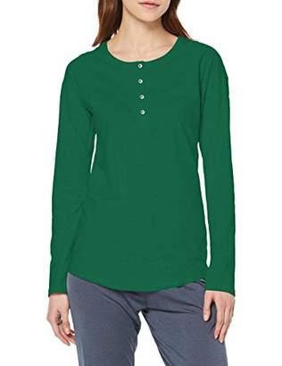 Schiesser Women's Mix & Relax Shirt 1/1 Arm Pyjama Top,(Size: 046)