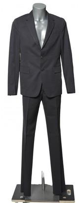 Prada Anthracite Cotton Suits