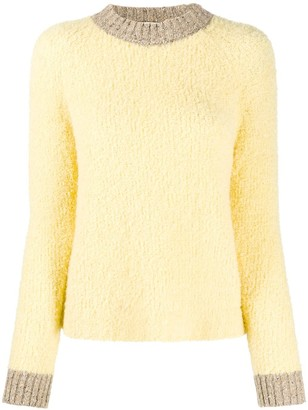 Tela Two-Tone Knitted Jumper