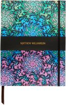 Matthew Williamson Butterfly Wheel Large Luxury Notebook