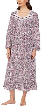 Eileen West Cotton Woven Lawn Long Sleeve Ballet Gown