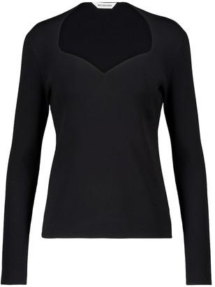 Balenciaga Stretch-knit top