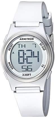 Armitron Sport Women's Digital Chronograph -Tone Resin Strap Watch