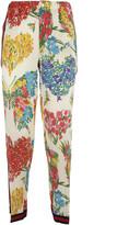 Gucci Floral Pajama Top