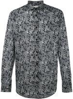 Saint Laurent paisley patterned shirt
