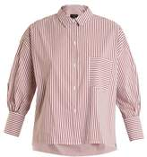 Nili Lotan Filmore striped cotton shirt