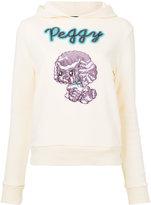 G.V.G.V. sequin applique hoodie