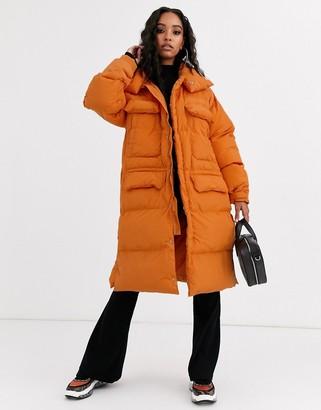 Sixth June oversized longline padded jacket