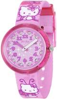 Swatch Women's Hello Kitty ZFLNP005 Stainless Steel Wrist Watches